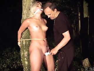 Tied Up Youthful Marionette Suffers Penalty In Domination & Submission Fuck