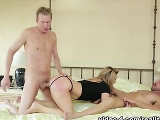 Horny Porn Industry Star Mark Wood In Amazing Ass Fucking, Three-ways Adult Clip
