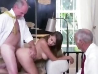 German Old Youthfull Xxx Ivy Amazes With Her Gigantic Boobies And Bootie