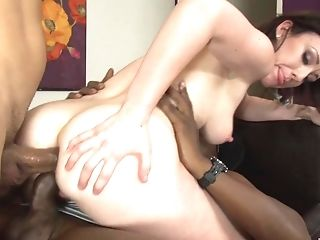 Petite Pallid Teenage Jennifer Milky Pounded In All Crevasses By Black Dudes