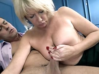 The Private Matures Lecturer Rosemary - Buxomy Blonde With Big Arse Screwed