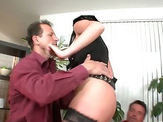 Skilled Hooker In Police Uniform Mauricia Gets Dual Penetrated