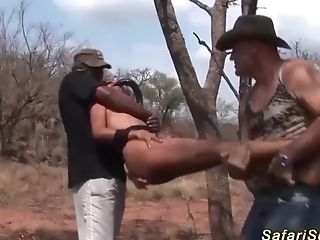 African Fixation Nubile Big Shaft Group Banged