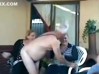 Crazy Homemade Grannies Lovemaking Movie