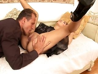 Spunky Maid Jay Dee Deep-throats Dick With The Highest Level Of Skill