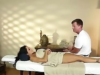 Filmed Mummy Massaged And Tittyfucked