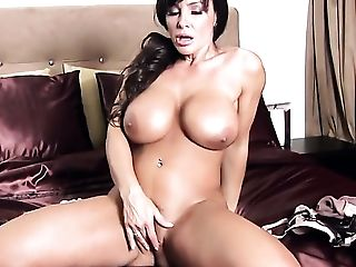 Lisa Ann Loving Superb Onanism Session