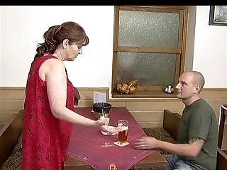 Ivana Barova In Bite Me Granny - Deep Throating
