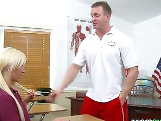 Milky Haired School Lady Maia Davis With Cock-squeezing Sexy Butt
