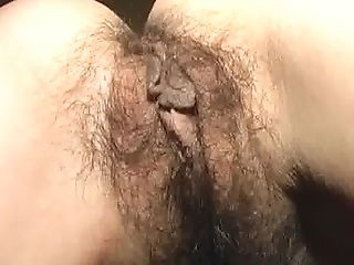 Hairy Cooter - Hairy Asshole - Asian