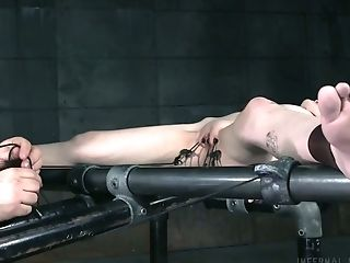 Obedient Hotty Charlotte Sartre Is Restrained And Masturbated Hard