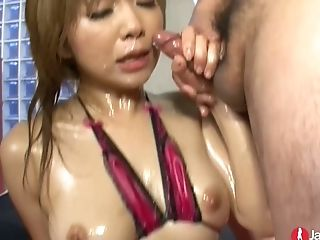 Japanese Stunner Rui Haduki Is Fully Sated With A Lot Of Wands