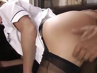 Stockinged Nurse Strokes