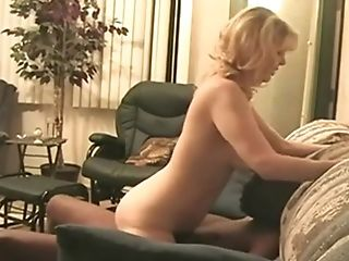 Hotwife Slurps A Internal Ejaculation From His Wifey After A Big Black Cock Crams Her